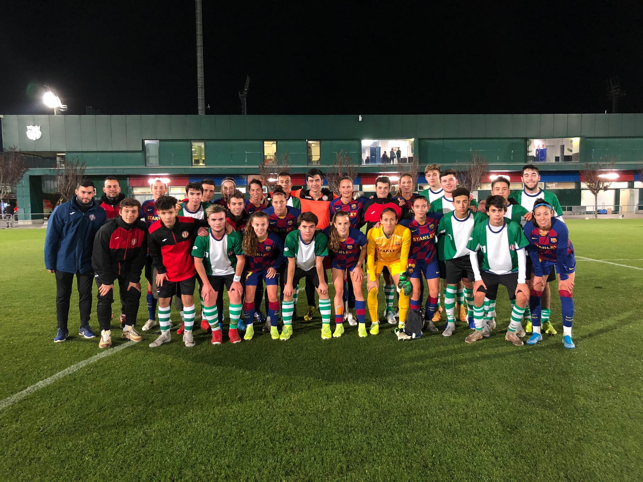 Barça Femení - Juvenil EFA